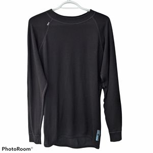 Ullmax merino wool long sleeve Thermal Cold Weather Base Layer shirt size M L